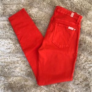 7 for all Mankind High Waist Colored Denim